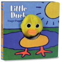 Chronicle Books Little Duck Finger Puppet Book