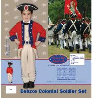 Dress Up America Deluxe Colonial Soldier Set - Toddler T4