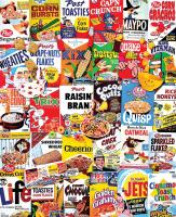 White Mountain Puzzles Cereal Boxes