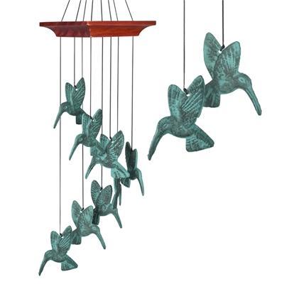 Woodstock Chimes Habitats - Hummingbird Spiral