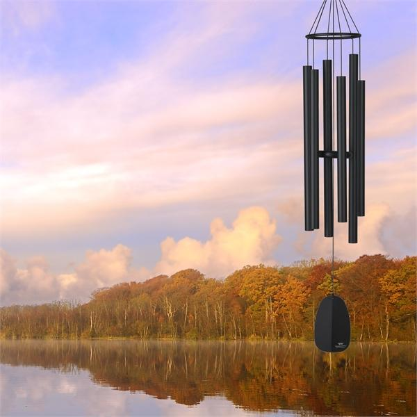 Woodstock Chimes Bells of Paradise - Large, Black