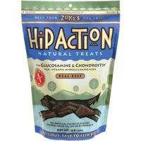 Zukes Hip Action Beef Treats 6.25 Oz