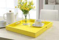 Convenience Concepts Palm Beach Tray, Yellow