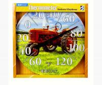 Red Tractor Thermometer 12.5 inch