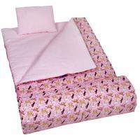 Olive Kids Horses in Pink Sleeping Bag