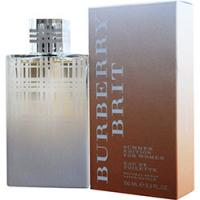 Burberry Brit Summer By Burberry Eau De Toilette Spray 3.4 Oz (edition 2012) for Women