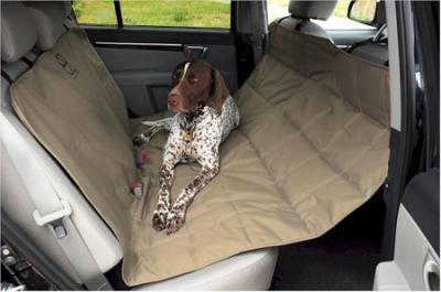 Hammock Car Seat Pet Protector - SUV/Tan