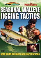 Stoney-Wolf Seasonal Walleye Jigging Tactics DVD