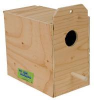Lovebird Nest Box Outside Mount