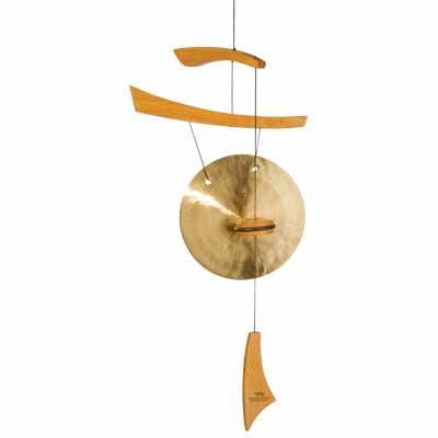 Woodstock Chimes Emperor Gong - Small Natural