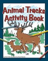 Adventure Publications Animal Tracks Activity Book
