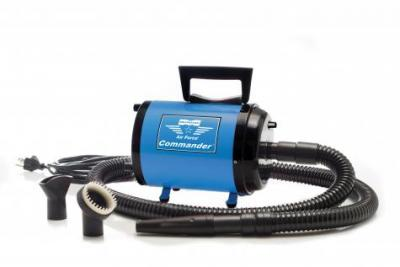 Metro Vac Airforce Commander with Variable Speed Dryer- 4 HP (Blue)