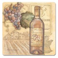 Counter Art Vineyards Hardboard Coasters Set of 4