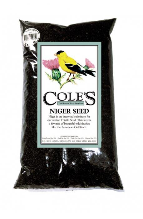 Cole's Wild Bird Products Niger Seed 10 lbs.