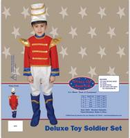 Dress Up America Deluxe Toy Soldier Set - Small 4-6