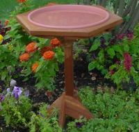 Songbird Essentials Classic 17 with Post Bird Bath