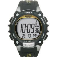 Timex Ironman 100-Lap Flix Digital Watch with Black Resin Strap