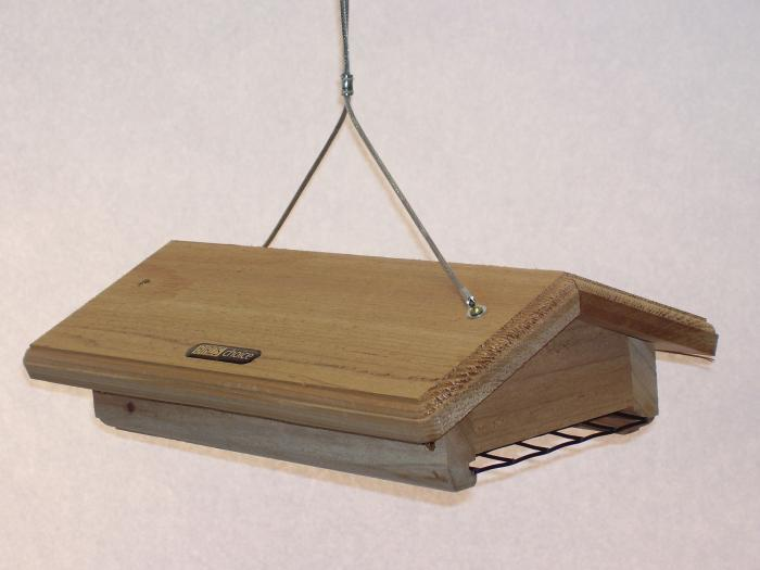 Birds Choice Double Cake Upside Down Suet Bird Feeder with Hanging Cable
