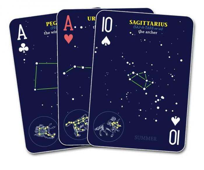 Adventure Publications Night Sky Playing Cards