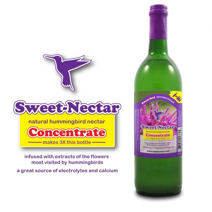 Sweet-Nectar Hummingbird Food Concentrate - Set of Four