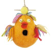 DZI Handmade Designs Rubber Ducky Felt Birdhouse