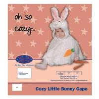 Dress Up America Cozy Little Bunny Cape Costume Set - 12-24m