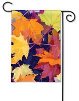 Magnet Works Maple Leaves Garden Flag