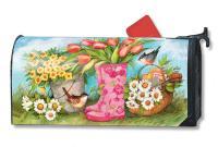 Magnet Works Garden Boots Mailwrap