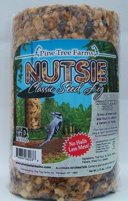 Pine Tree Farms Nutsie Seed Log 40 oz.