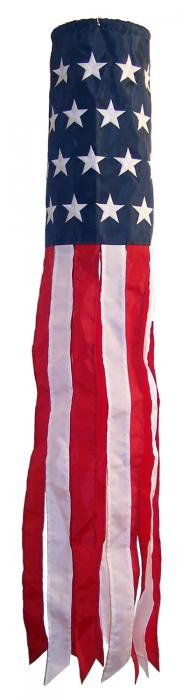 In The Breeze 40 in U.S. Embroidery Flagsock