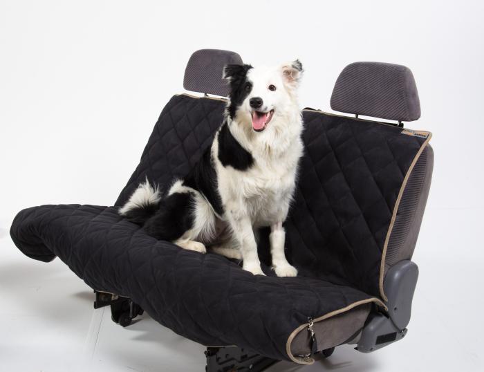PetEgo Animal Basics Velvet Seat Cover Hammock - Stone Espresso