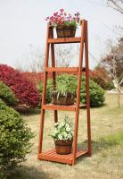 Convenience Concepts  4 Tier Plant Stand (Red Cedar)