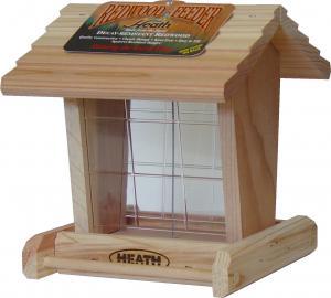 House / Hopper Bird Feeders by Heath