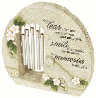 Carson Peaceful Reflections Garden Windchime Miss You