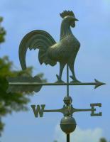 Good Directions Rooster Weathervane, Blue Verde Copper + FRT