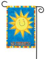 Magnet Works Summer Sun Garden Flag