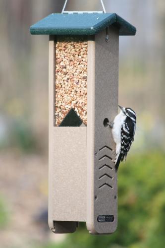 Birds Choice Recycled Woodpecker Feeder