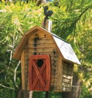 Heartwood Rock City Bird House, Natural