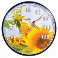 AcuRite Sunflower Hummingbird Thermometer