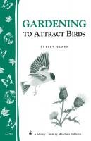 Workman Publishing Gardening to Attract Birds