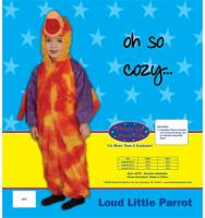 Dress Up America Loud Little Parrot - Size 4