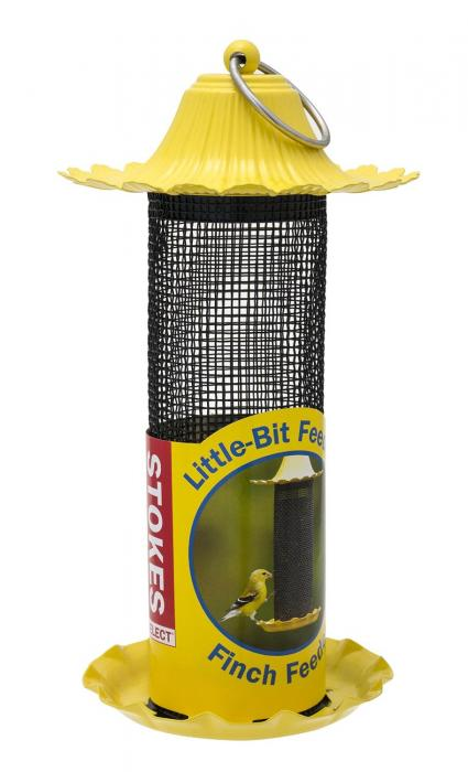 Hiatt Manufacturing Little-Bit Feeders Finch Mesh Tube Bird Feeder