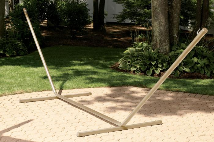Bliss Hammocks Large Heavy Duty Hammock Stand 15' - Taupe