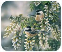 Fiddler's Elbow Chickadees Mouse Pad