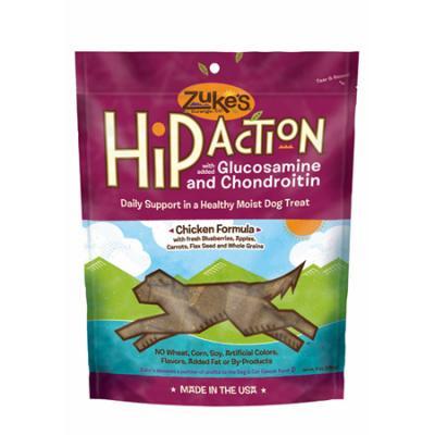 Zukes Hip Action Chicken Treats 6 Oz