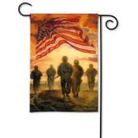 Magnet Works American Heroes Garden Flag