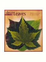 Pacific Merchants Spring Deco Parchment Leaves