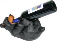 Rivers Edge Products Bear Wine Bottle Holder
