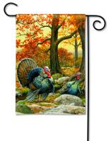 Magnet Works Turkeys Garden Flag