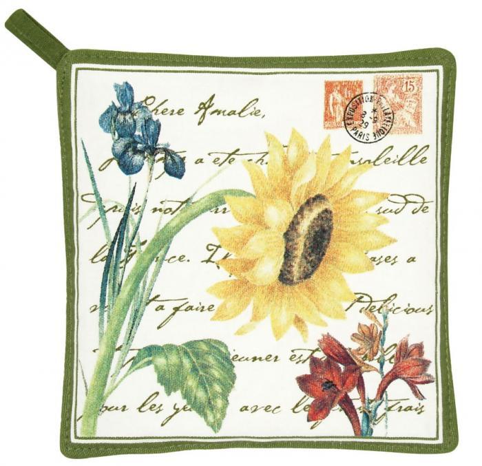 Alice's Cottage Flower Potholder